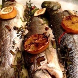 Fırında Balık- Taze Otlu, Sebzeli