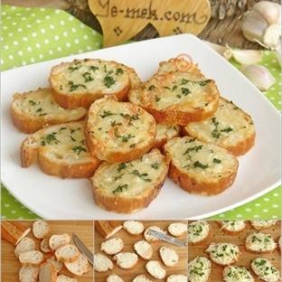 Fırında Sarımsaklı Ekmek