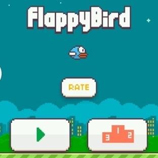 Flappy Bird Çılgınlığı Heryeri Sardı!