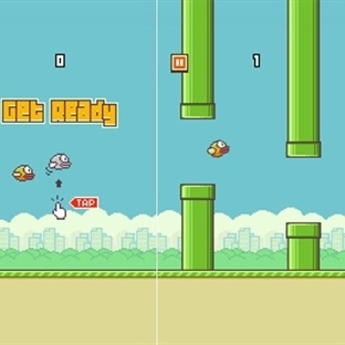 Flappy Bird Oyunu iOS ve Android'i Fethetti