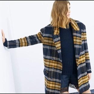 Giymeyen Kalmadı | Zara Wool Kaban