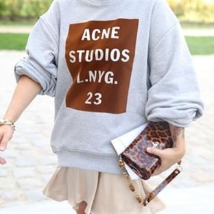 Giymeyen Kalmadı | Acne Sweatshirt