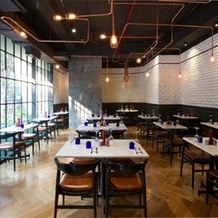 Hindistan'da PizzaExpress Restaurant Aydınlatma