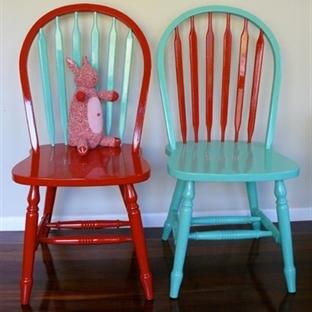 Hobi köşesi  Sandalyeleri yenileyelim