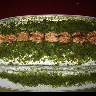 Ispanaklı - Labne Peynirli Tuzlu Kek