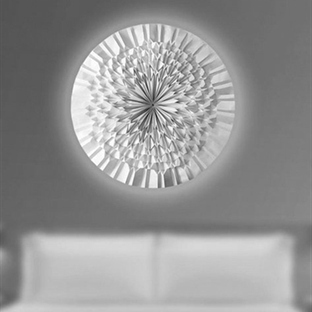 Jiangmei Wu'dan Kağıttan Sun Flower Aplik