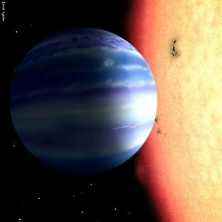 Jüpiter Benzeri Gezegende Su Tespit Edildi