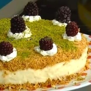 Kadayıf pasta tarifi