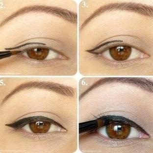 Kahverengi Gözlüler İçin Göz Makyajı
