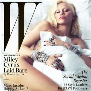 Kapak Kızı: Miley Cyrus - W Dergisi Mart Sayısı