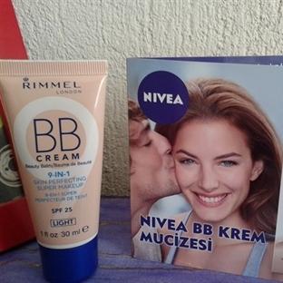 Karşılaştırma: Rimmel BB - Nivea BB