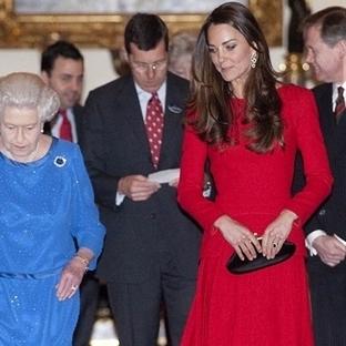 Kate Middleton: Alexander McQueen Elbise