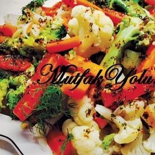 Kış Sebzeleri Salatası