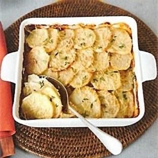 Kremalı Patates Tarifi (fırında)