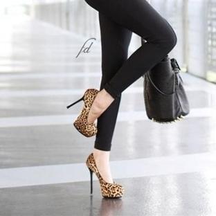 Leopar Desen Ayakkabı Modelleri ve Kombinleri