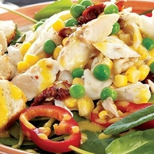 Levrekli kuzukulağı salatası