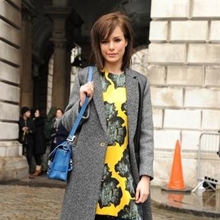 Londra Moda Haftası'nda Sokak Stilleri