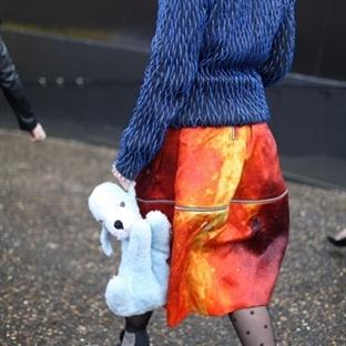 Londra Moda Haftası 2014 Sokak Modası
