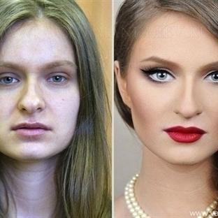 Makyaj Kadınları Böyle Değiştiriyor