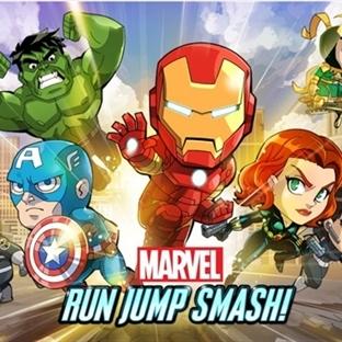 Marvel Run Jump Smash Android Dünyasında