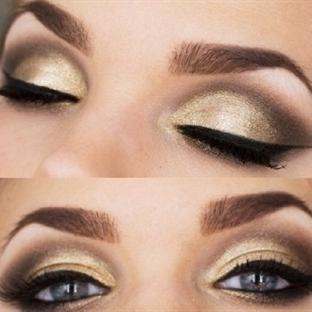 Metalik Göz Makyajı Nasıl Yapılır