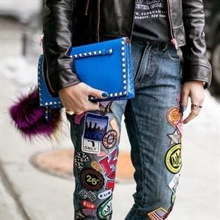 Mikro trend: Yamalı ve Armalı Jean'ler