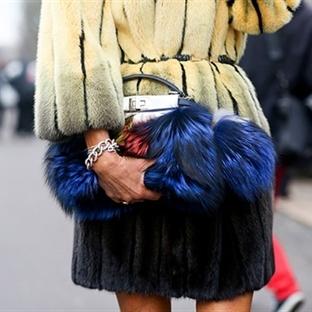 Milan Sonbahar 2014 Moda Haftası'nda Sokak Modası