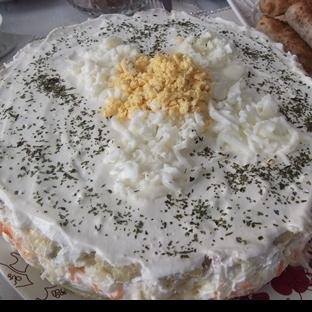 mimoza - salata (mimoza pasta)