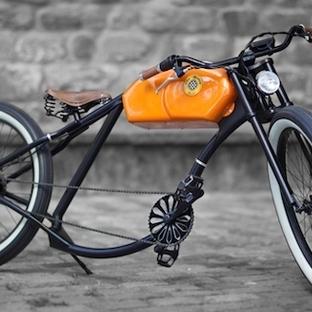 Motor Görünümlü Bisikletler