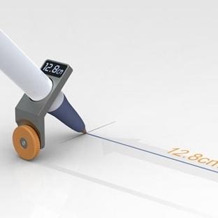 Ne Kadar Uzunlukta Çizim Yaptığını Gösteren Kalem