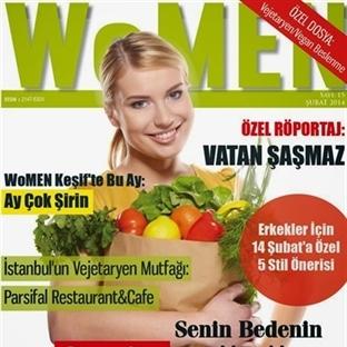 Neden Vejetaryen Oldum ve WoMEN Dergisi'nin Şubat
