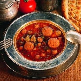 Nohutlu Bulgur Çorbası