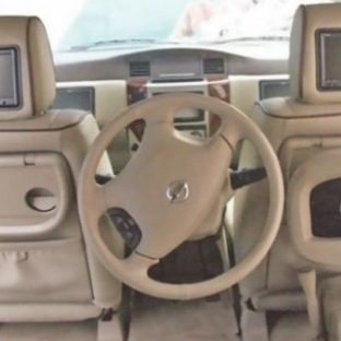 Otomobilinizi Arka Koltuktan Sürün