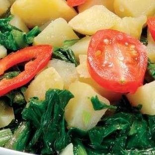 Patatesli Pazı Salatası