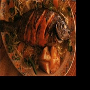 Portakal Soslu Sinarit Balığı