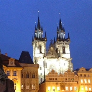 Prag'ın ara sokakları…