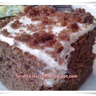 pudingli pratik yaş pasta
