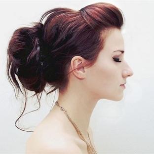 Saç Modeli: Dağınık Topuz