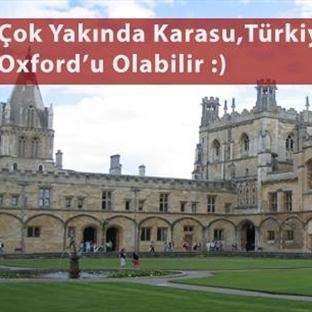 Sakarya'da Oxford Konsepti Üniversite Kuruluyor