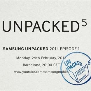 Samsung Galaxy S5 Unpacked Davetiyesi Gönderdi