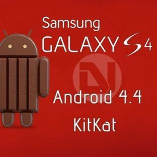 Samsung Galaxy S4 Android 4.4.2 Kitkat Güncelleme