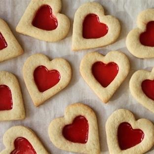 Şeker Kurabiye - Sevgililer Gününe Hazırlık