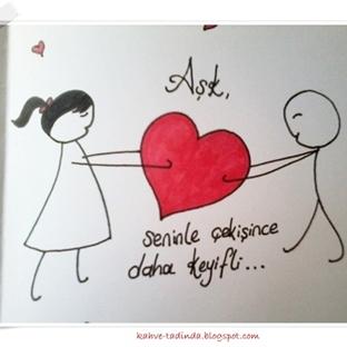 Sevgililer Günü Aşk Kartları
