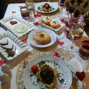 Sevgililer günü masamız