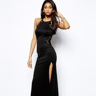 Siyah elbise modelleri 2014