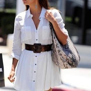 Stil Önerisi - Gömlek Elbiseler
