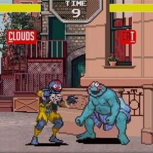 Susam Sokağı ve Street Fighter Bir Arada