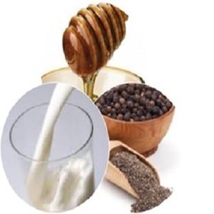 Süt Bal Karabiber Karışımı