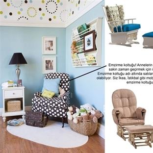 Tasarım: Bebek Odaları!