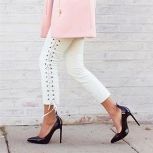 Trend: Lace Up Pantolon